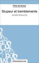 Afbeelding van Stupeur et tremblements dAmélie Nothomb (Fiche de lecture)