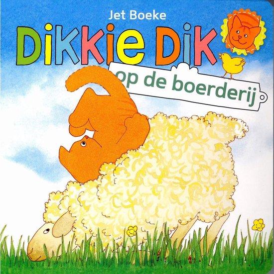Kartonboek Dikkie Dik Op De Boerderij - Jet Boeke |