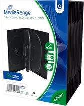 DVD doosje MediaRange 6er DVD Box 5 stuks