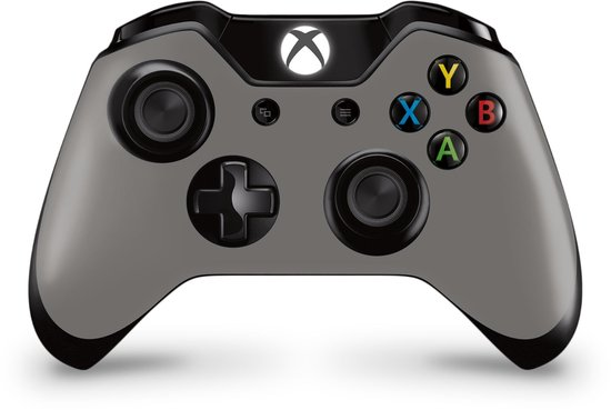 Xbox One Controller Skin Grijs Sticker