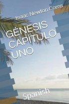 Boek cover Genesis Capitulo Uno van Isaac Newton Corns