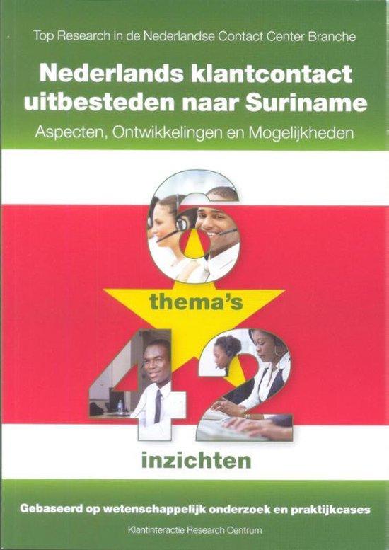 Nederlands klantcontact uitbesteden naar Suriname - Kirc   Readingchampions.org.uk