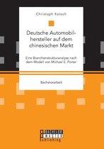 Deutsche Automobilhersteller auf dem chinesischen Markt