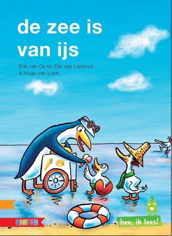 Hee, ik lees! - De zee is van ijs - Ted van Lieshout |