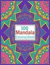 100 Mandala Coloring Book