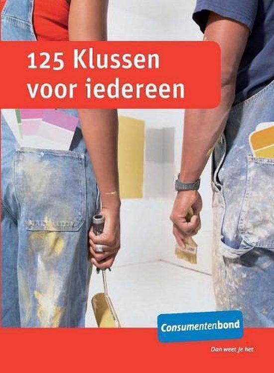 Cover van het boek '125 klussen voor iedereen'