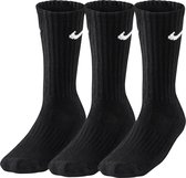 Nike  Swoosh  Sportsokken - Maat 42-45 - Unisex - zwart