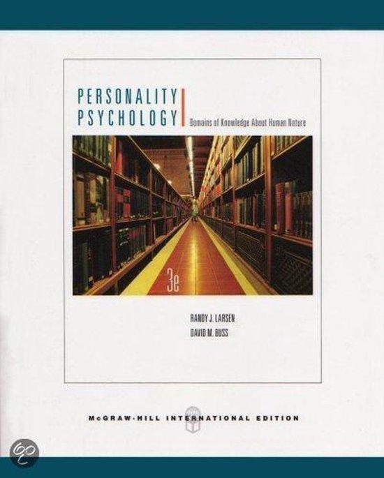Boek cover Personality Psychology van Cram101 Textbook Reviews (Paperback)