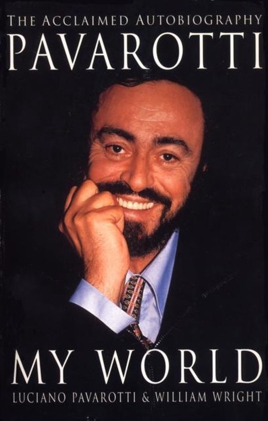 Boek cover My World van Luciano Pavarotti (Paperback)