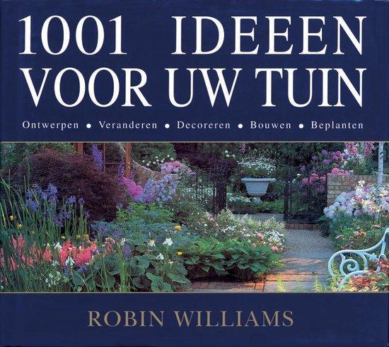 Cover van het boek '1001 Ideeen voor uw tuin' van R. Williams