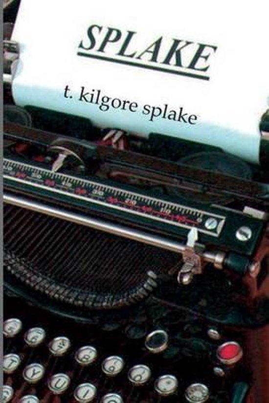 Boek cover Splake van T Kilgore Splake (Paperback)