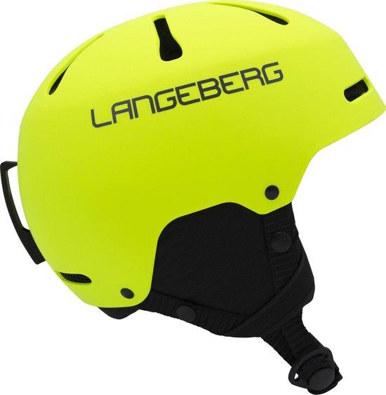 Skihelm Langeberg Bright Yellow