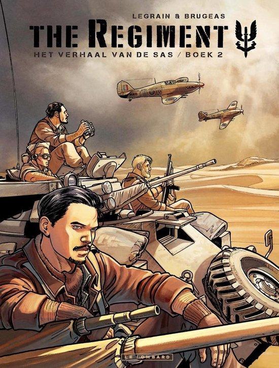 Regiment 02. het verhaal van de sas - Thomas Legrain |
