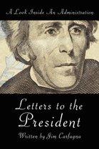 Boek cover Letters to the President van Jim Carfagna