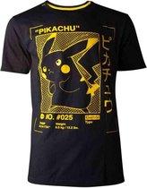 Pokémon - Pikachu Profile Men s T-shirt - 2XL