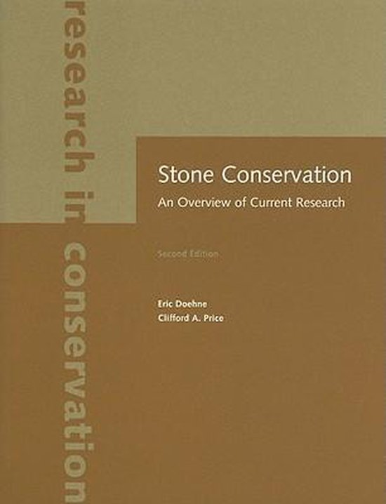 Stone Conservation - An Overview of Current Research