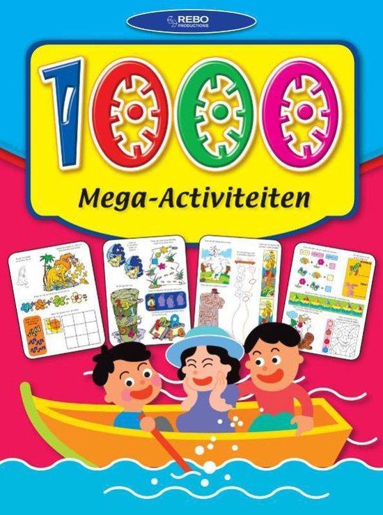 Cover van het boek '1000 Mega activiteiten'