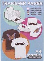 Transfer papier voor kleding/textiel