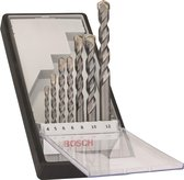 Bosch Robust Line Silver Percussion betonborenset - 7 delig