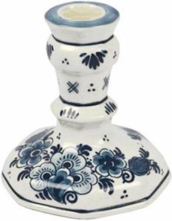 Royal Goedewaagen - Handbeschilderde kandelaar 10 cm - Delfts Blauw