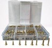 Schroeven - Hoog Kwaliteit Set van 270 stuks schroeven - Verschillende formaten - kruiskop - platte schroeven