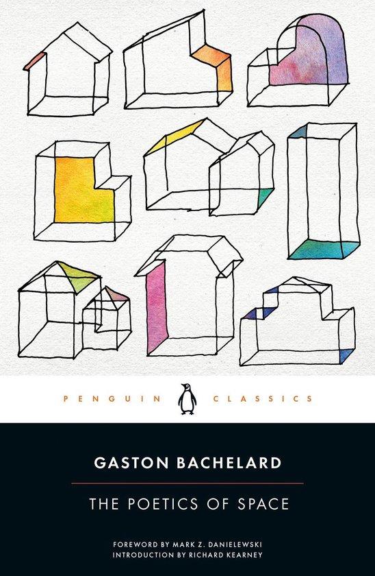 Boek cover The Poetics of Space van Gaston Bachelard (Paperback)