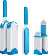AWEMOZ® Pluizenverwijderaar 4 Stuks - Pluizenborstel - Ontpluizer - Kledingroller – Pluizenroller - Kleefroller - Kledingborstel