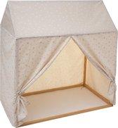 Atmosphera Speeltent jongen - tent - Kinderkamer - Speelkamer - 116 x 126 - Zacht grijs