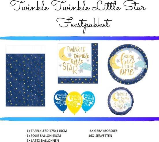 Twinkle Twinkle Little Star Feestversiering