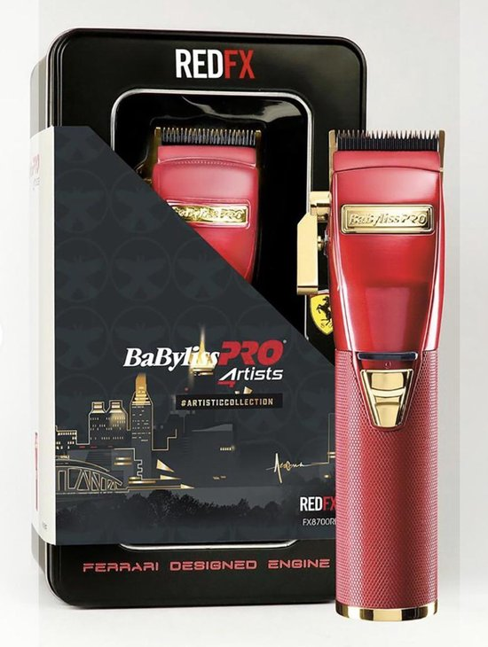 BaByliss PRO Red FX Tondeuse - FX8700RE