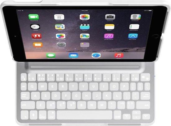 Belkin QODE Ultimate Pro hoes met QWERTY toetsenbord voor iPad Air 2 Wit