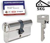 Vitess SKG3 - certificaat cilinderslot - dubbele cilinder - 30/45