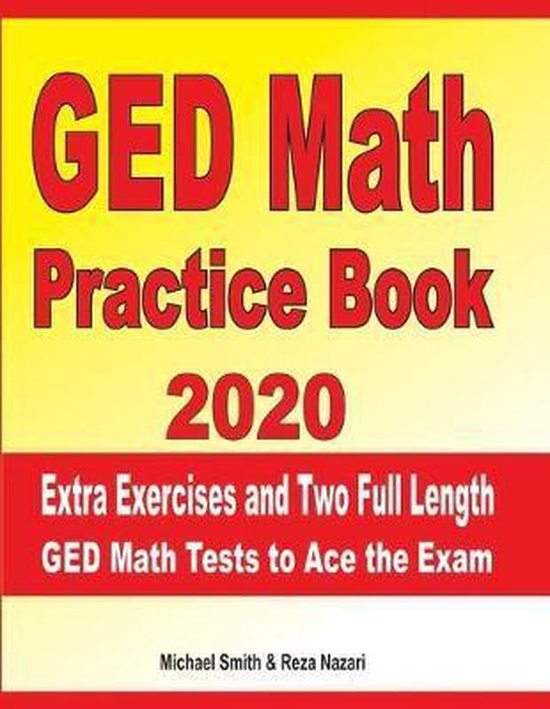 GED Math Practice Book 2020