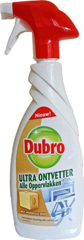 Dubro Ultra Ontvetter spray - Verwijdert krachtig alle vuil en vet