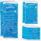 relaxdays hot cold pack - koud warm kompres - gel pack - cold pack - hot pack - set van 8