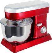 Keukenrobot Swiss Cuisine 6,3L 1500W Zilver/Rood