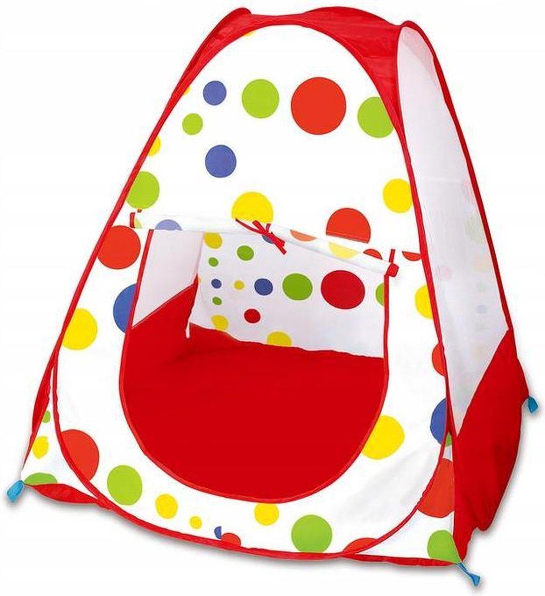 Kinder Speeltent - Pop Up Tent - 95 x 95 x 92 cm - Met Opbergtas