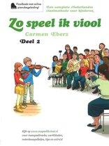 Zo Speel Ik Viool 2 - Vioolboek met online pianobegeleiding