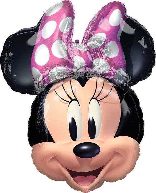 Minnie Mouse Helium Ballon 66x53cm leeg