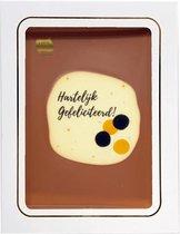 Tosca Chocolade cadeau Hartelijk gefeliciteerd, verjaardag 150 gram