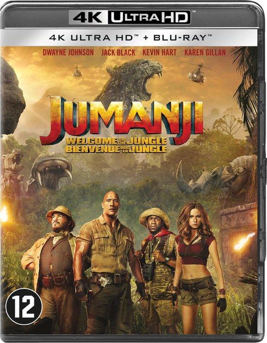 Jumanji: Welcome to the Jungle (4K Ultra HD Blu-ray)