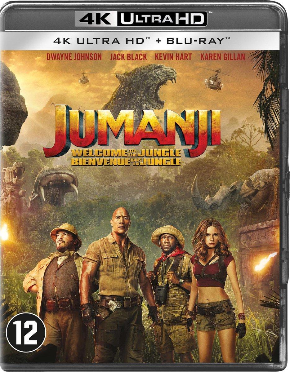 Jumanji: Welcome to the Jungle (4K Ultra HD Blu-ray)-