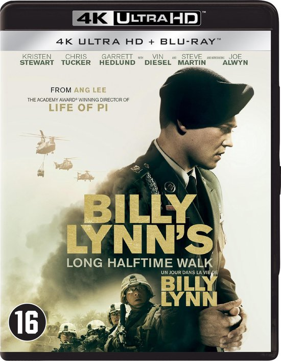 Billy Lynn's Long Halftime Walk (4K Ultra HD Blu-ray)