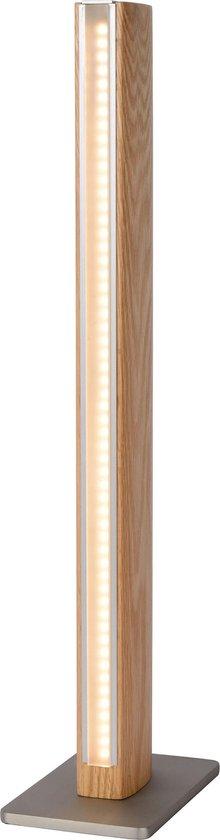 Lucide SYTZE Tafellamp - LED Dimb. - 1x10W 3000K - Licht hout