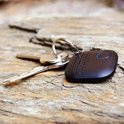 Bluetooth Keyfinder | Sleutel vinder | GPS tracker | Extra CR2032 | 2019 Zwart