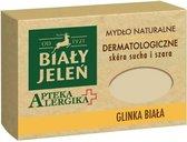 Bialy Jelen1921™ Handzeep met Witte Klei -  Zeep - Voor Gevoelige en Droge Huid  - Natuurlijke Gezichtsreiniging - Face Wash - Rituals Handzeep - Huidverzorging Derma Handzeep - 125 g