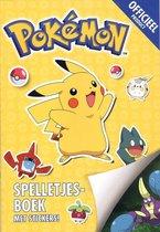 Pokemon spelletjes boek met stickers