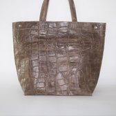 Kosmeoo Bags Dames Shopper Bruin
