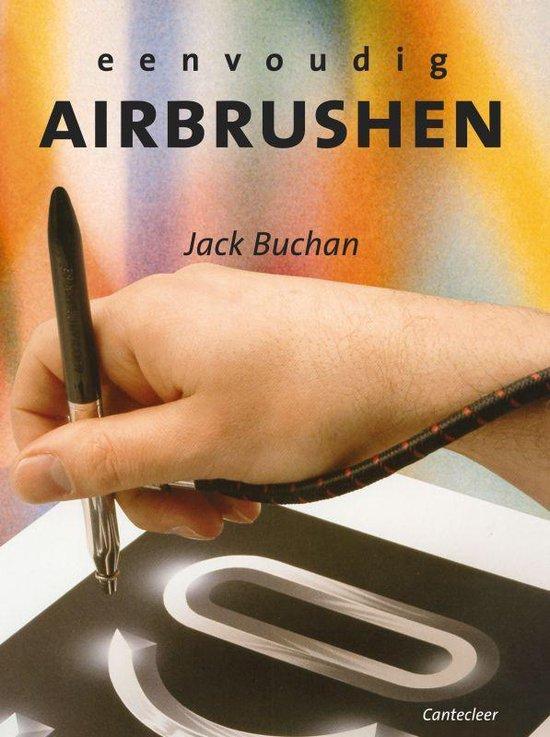 Cover van het boek 'Eenvoudig airbrushen'