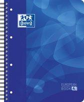 Oxford School Projectbook - A4+ - Lijn - 4 gaats - 240 pagina's - blauw